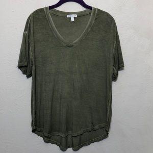 Abound Green Acid Wash T-Shirt
